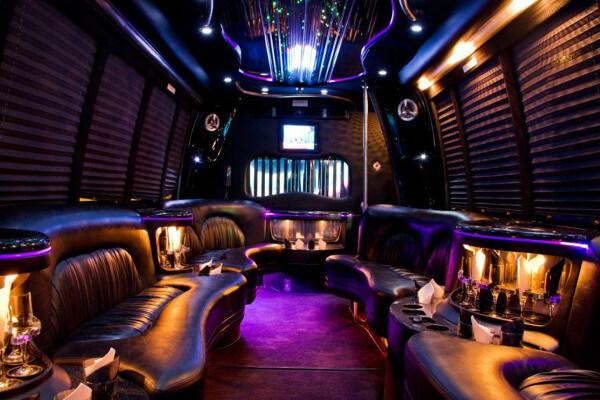 15 Person Party Bus Rental Dayton