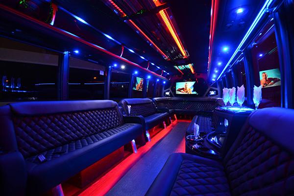 40 Person Party Bus Rental Dayton